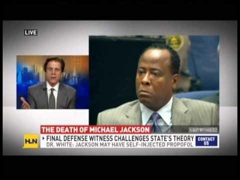 Jeffrey Shapiro discusses the Michael Jackson manslaughter case on HLN
