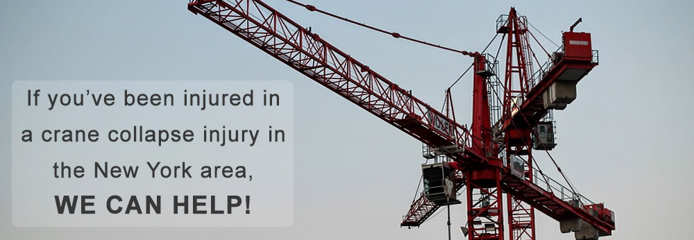 New York Crane Collapse Injury Attorney
