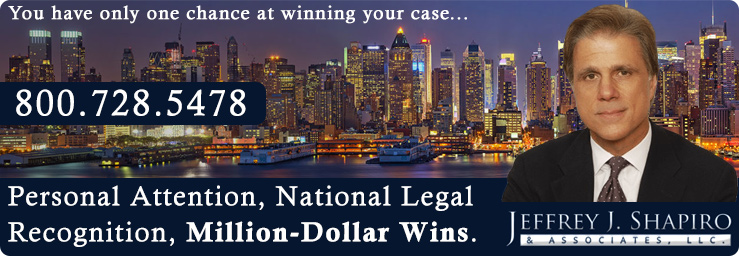 Nationally Recognized Legal Counsel in Personal Injury & Accident Matters